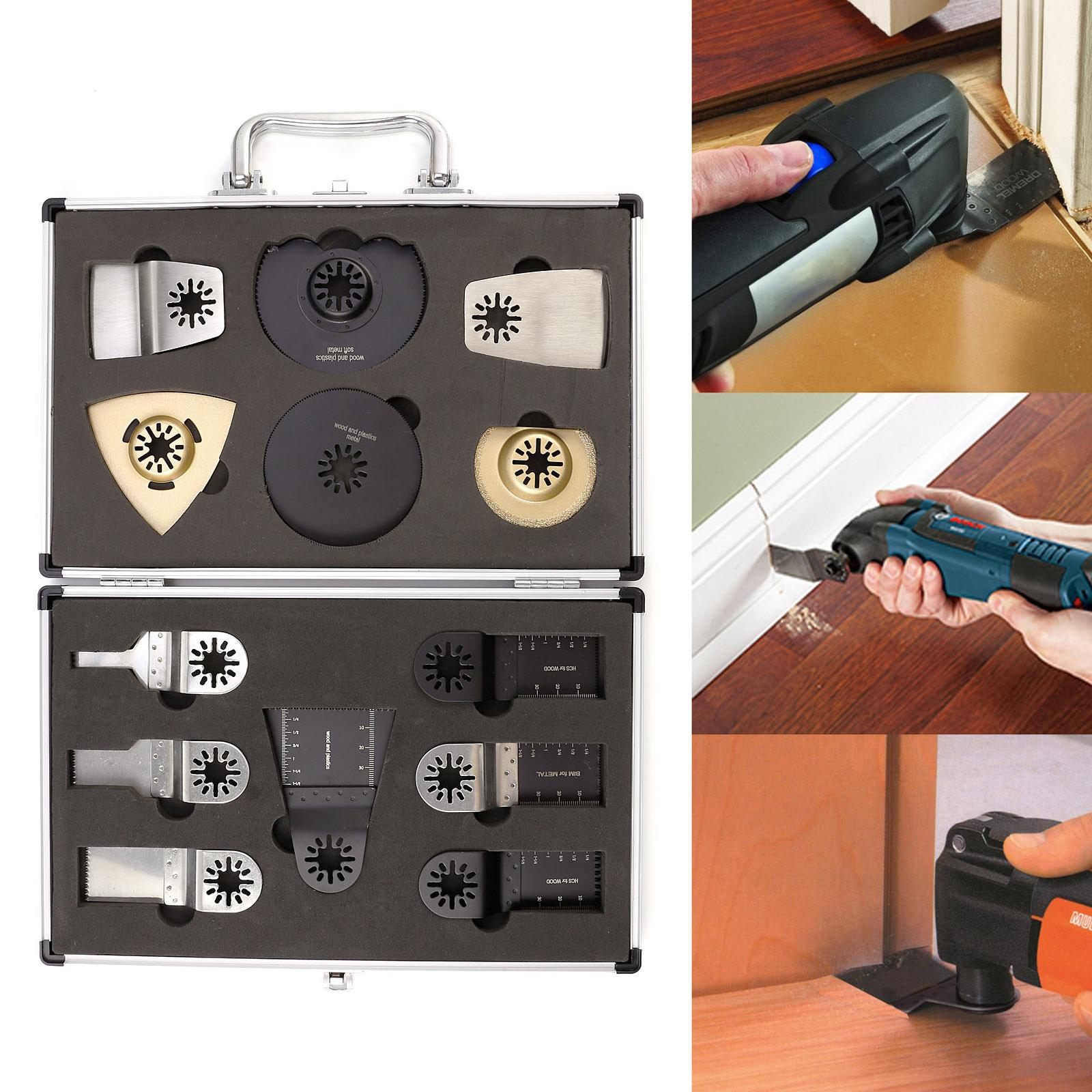13st multifunktion werkzeuge zubeh r f r fein bosch multimaster multitool ebay. Black Bedroom Furniture Sets. Home Design Ideas