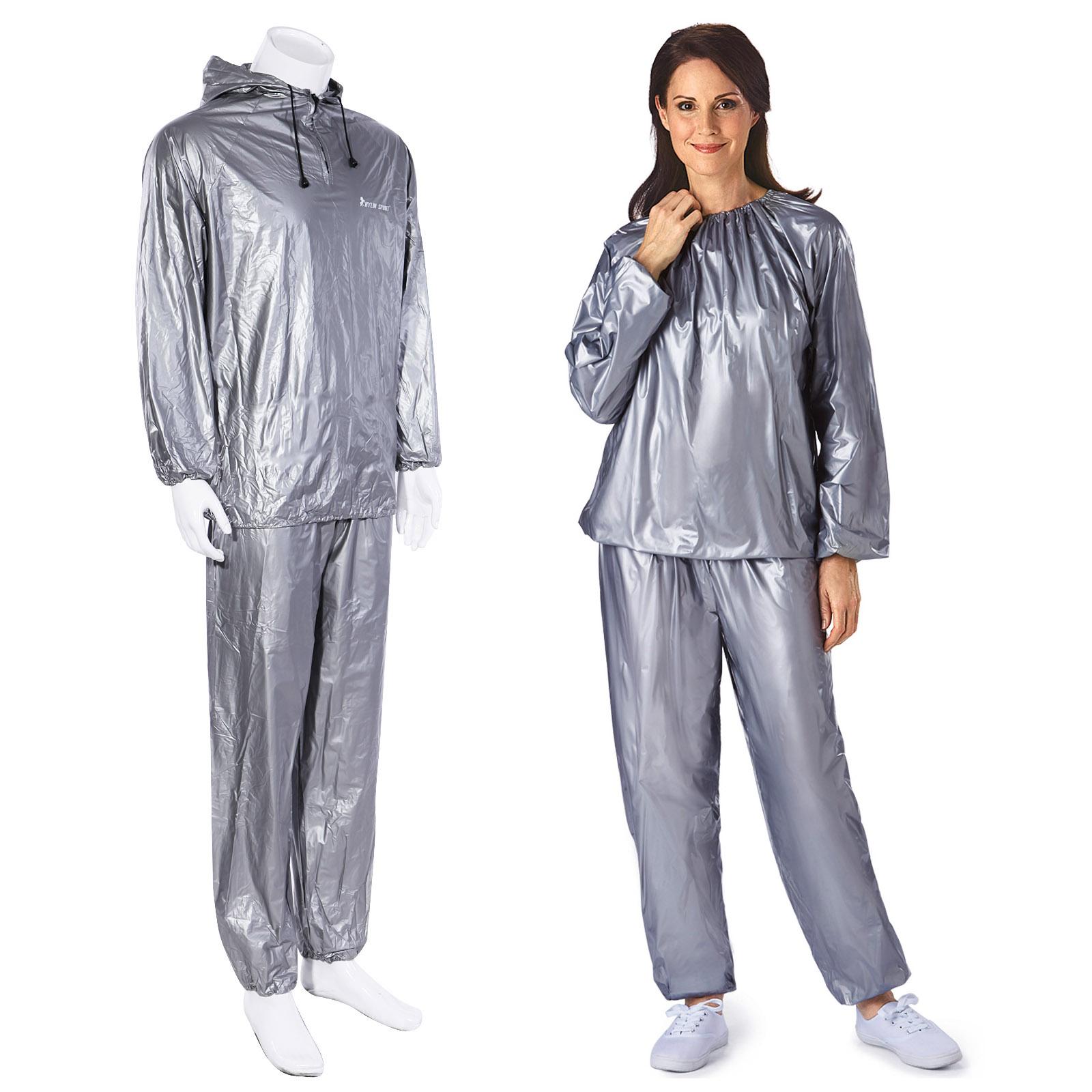 Sauna Sweat Suit Heavy Duty Weight Loss Anti Rip Adult