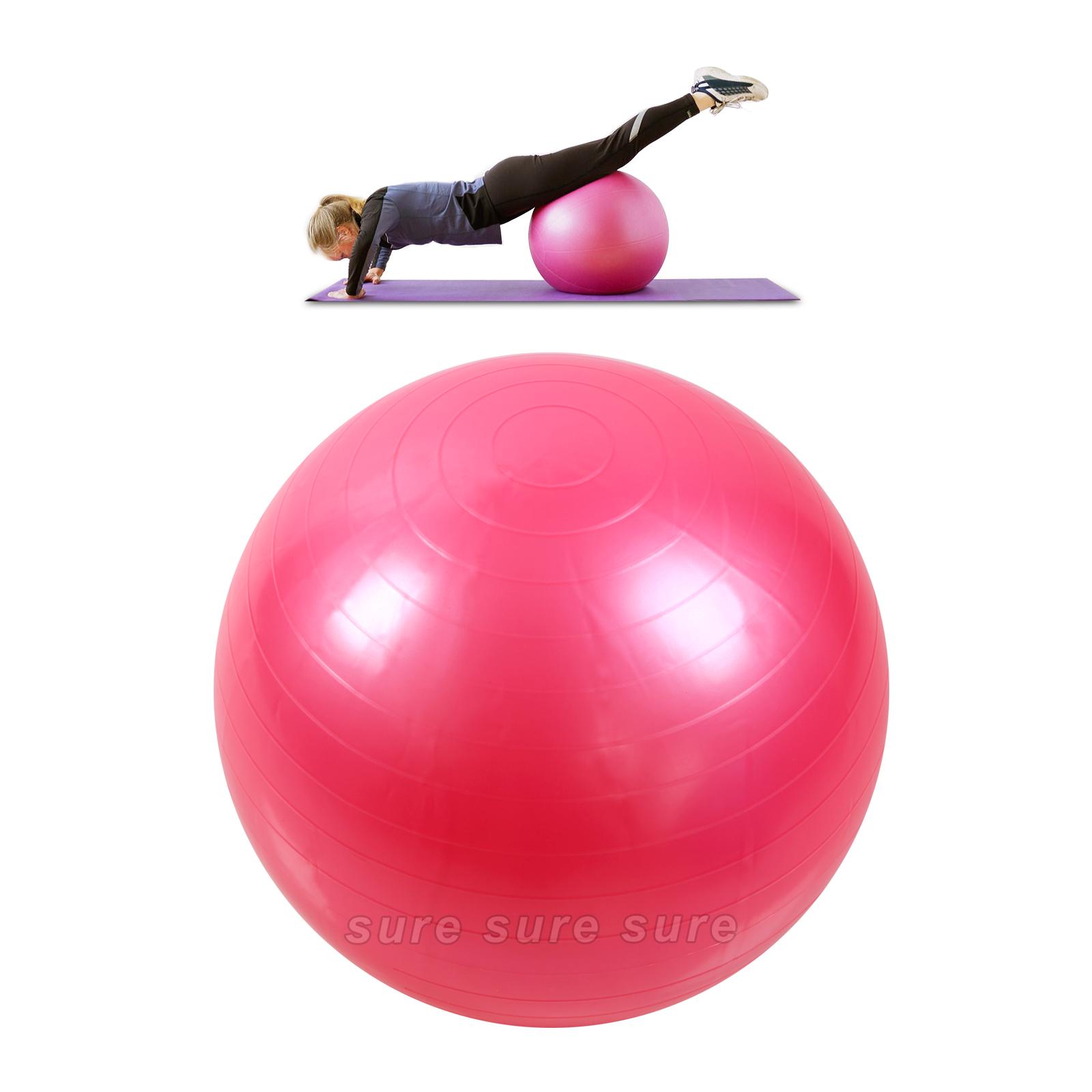 55 65 75 cm gymnastikball sitzball fitnessball stuhl ball b rostuhl sport ebay. Black Bedroom Furniture Sets. Home Design Ideas