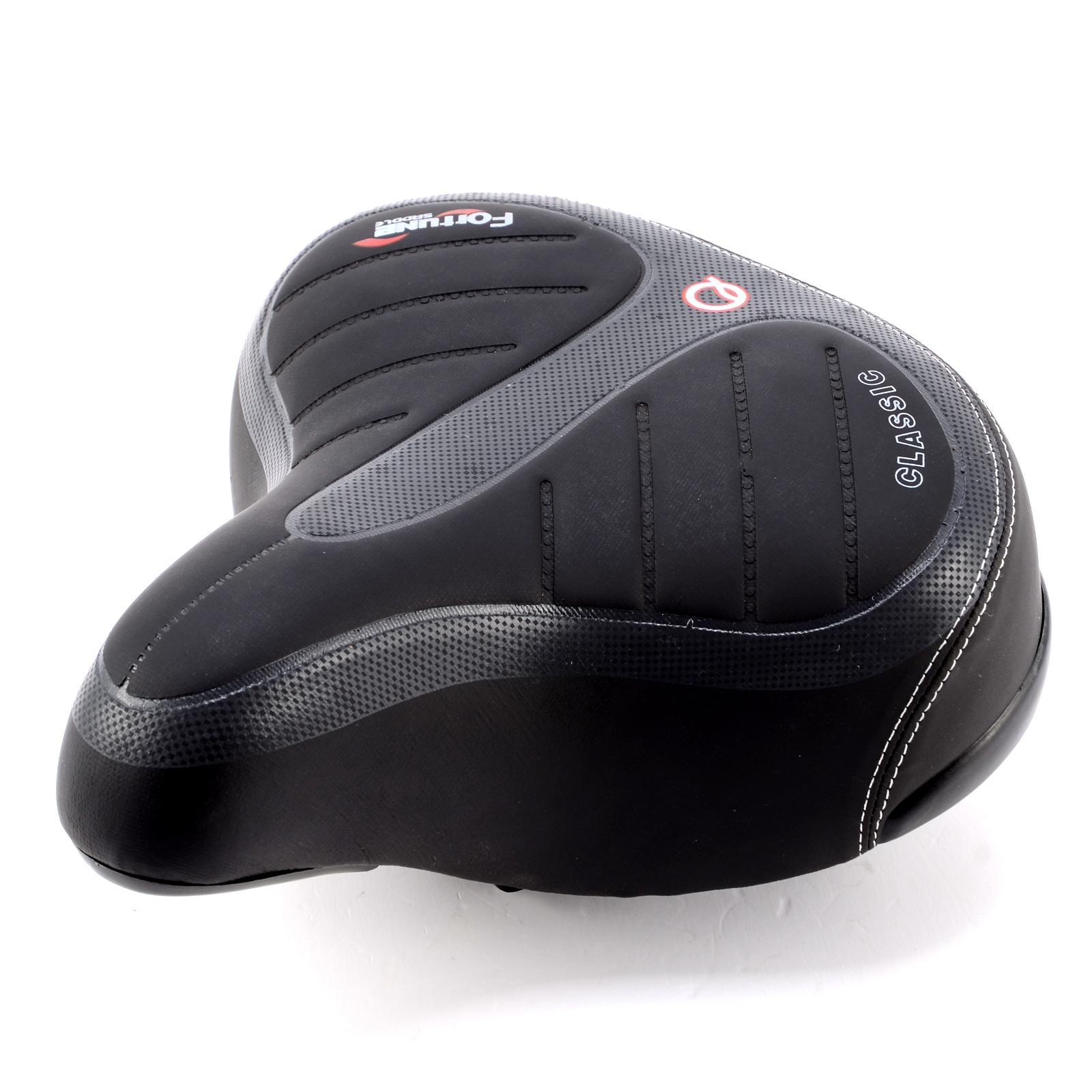 Extra Bike Seat : Wide big bum bicycle cycling road bike mountain seat
