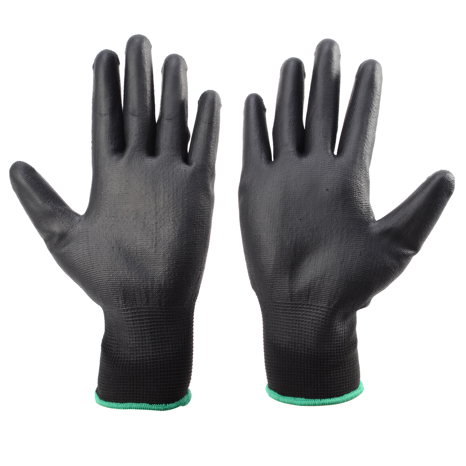 Black gardening gloves - These Safety Gloves Are Ideal For Carpenters Component Handling Construction Workers Precision Works Garden Work Refuse Collectors General Assembly