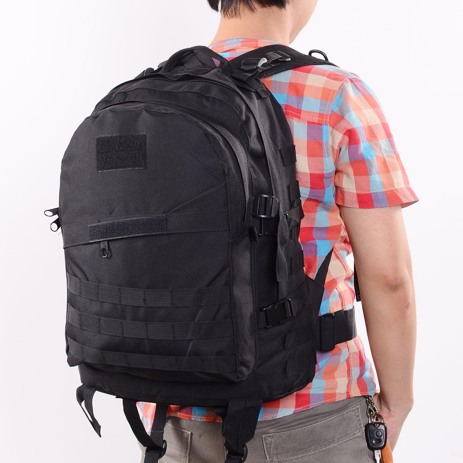 sac a dos tactique militaire outdoor camping backpack 40l etanche randonnee velo ebay. Black Bedroom Furniture Sets. Home Design Ideas