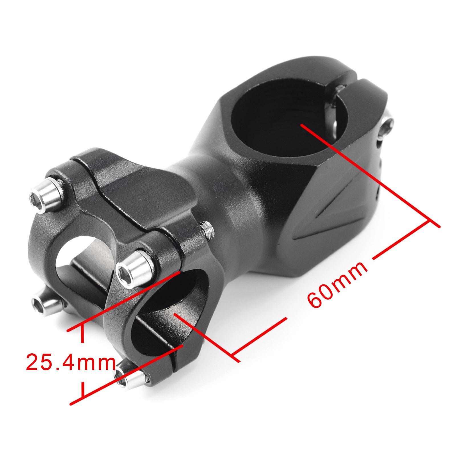 mtb lenker vorbau fahrrad ahead vorbau 25 4mm 60mm 80mm 90mm. Black Bedroom Furniture Sets. Home Design Ideas