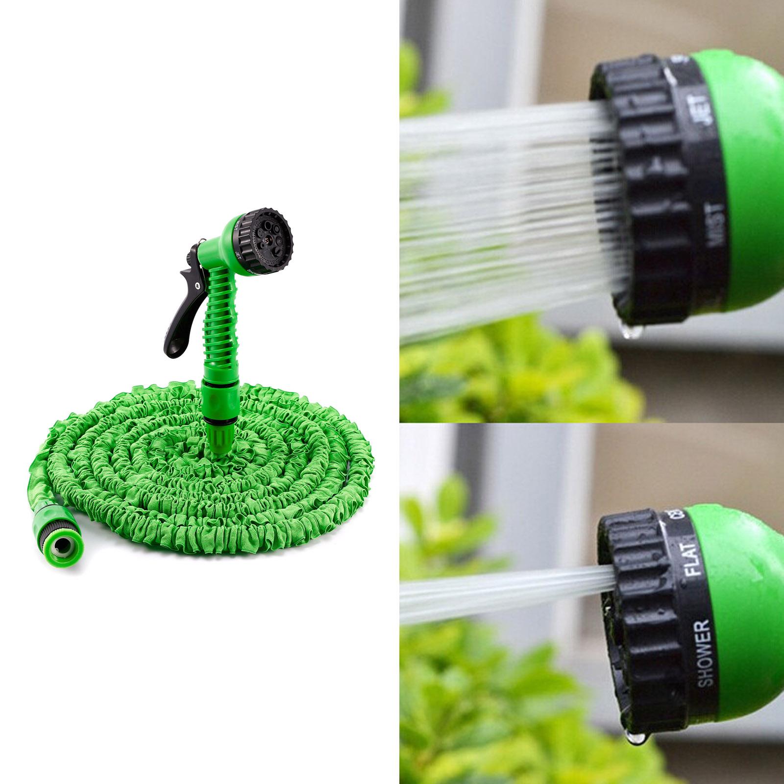 25 50 75 100ft expanding flexible expandable garden water