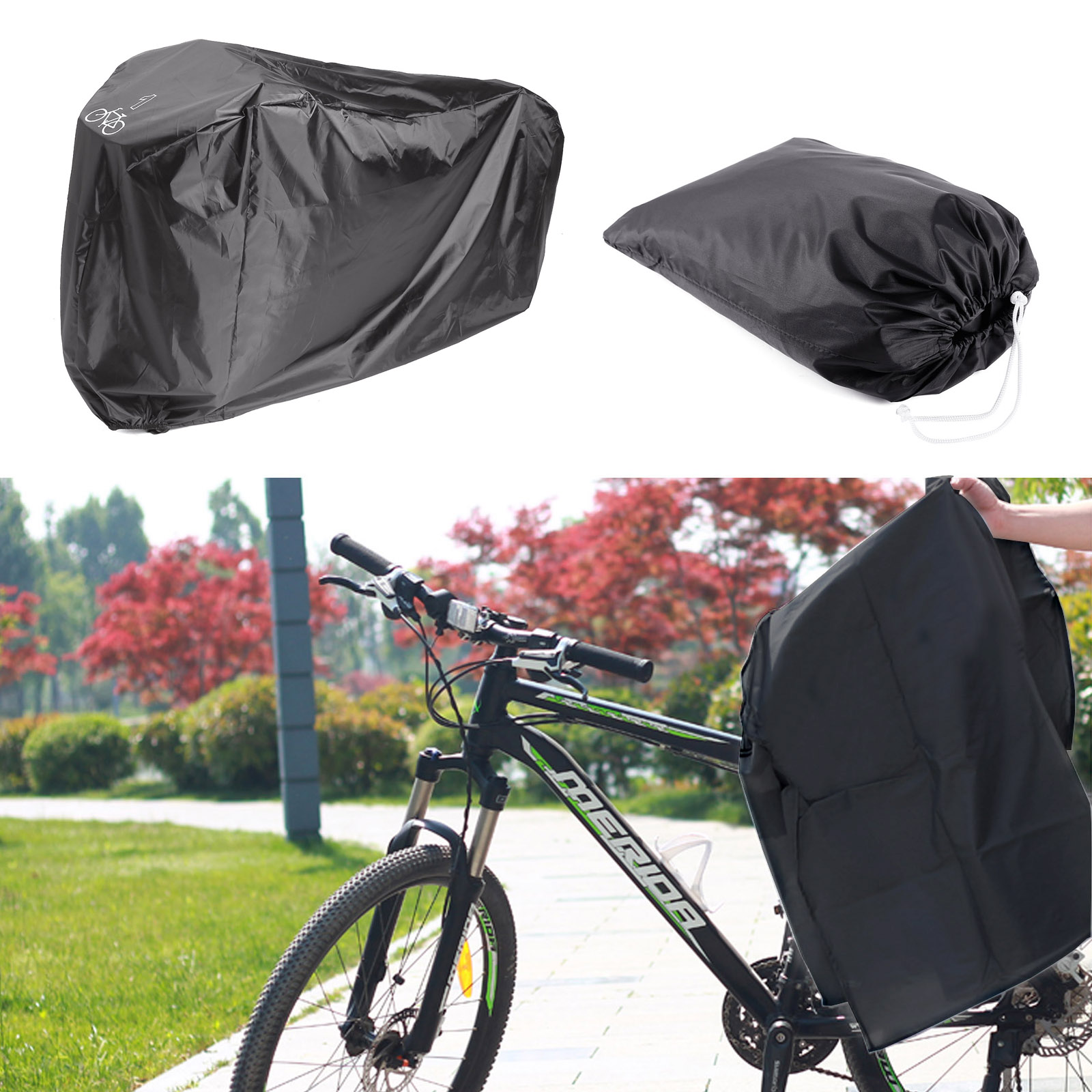 Universal Waterproof Bike Cover Bicycle Cycle Storage Outdoor Rain Snow Cover