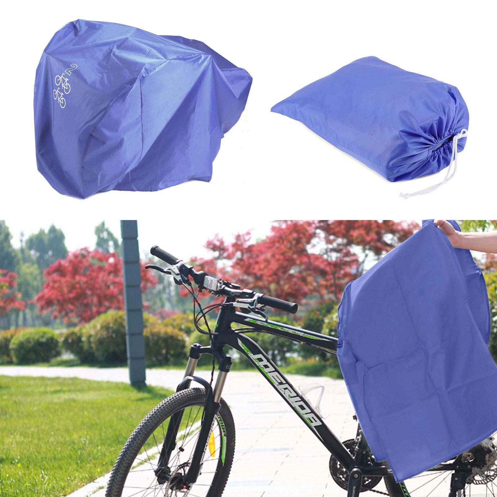fahrradgarage abdeckung schutzhaube fahrradabdeckung f r 2 fahrr der ebay. Black Bedroom Furniture Sets. Home Design Ideas