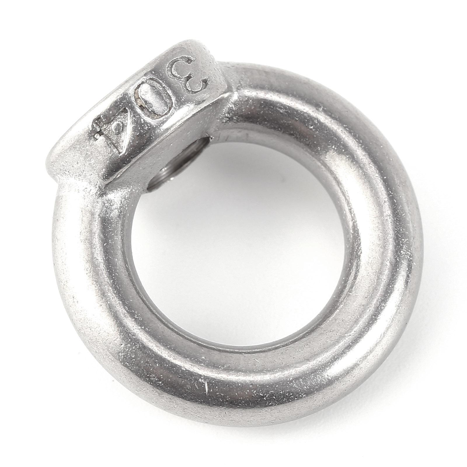 ringmutter ringschrauben edelstahl m6 m8 m10 ringmuttern rostfrei ring se ebay. Black Bedroom Furniture Sets. Home Design Ideas