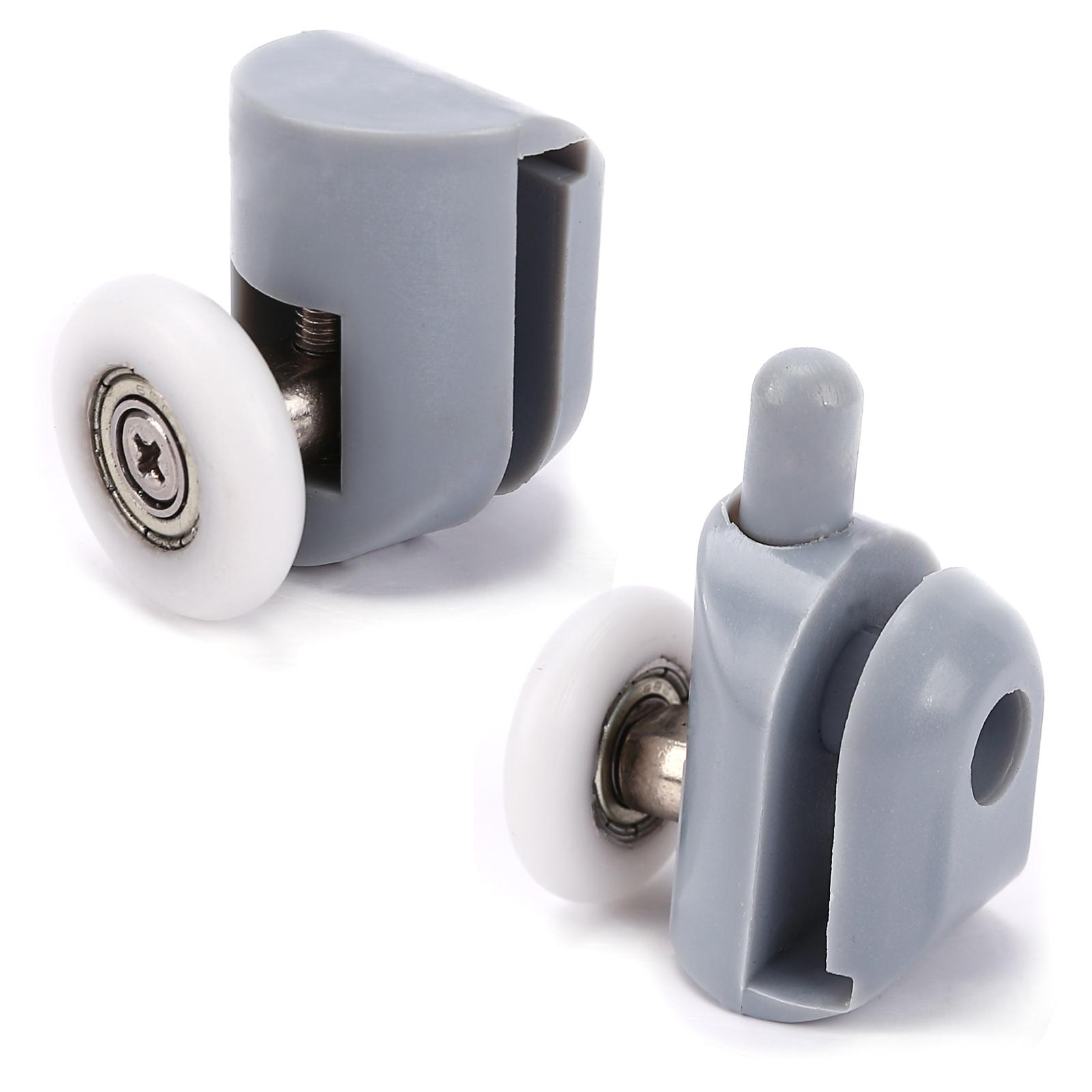 8pcs shower door roller runner wheel 25mm diameter - Fixation porte de douche ...