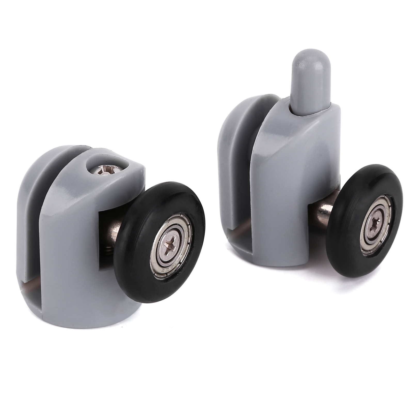 8 x single shower screen door wheel rollers runner guides for Screen door rollers