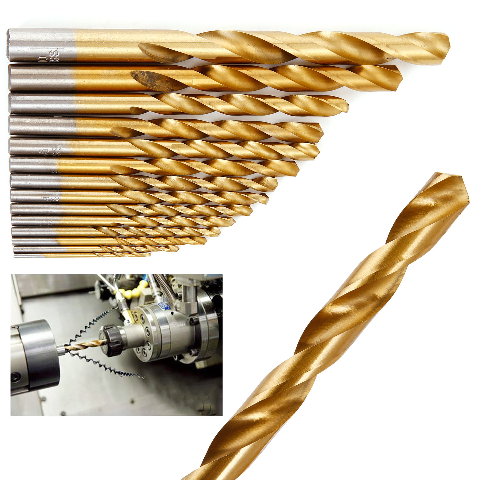 what kind of drill bits for metal