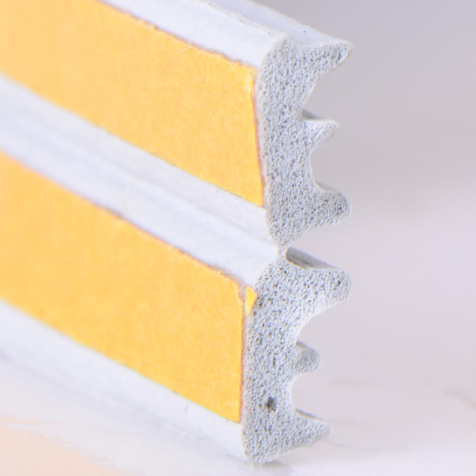 joint caoutchouc mousse adhesif fenetre porte 10m forme profile e gris. Black Bedroom Furniture Sets. Home Design Ideas