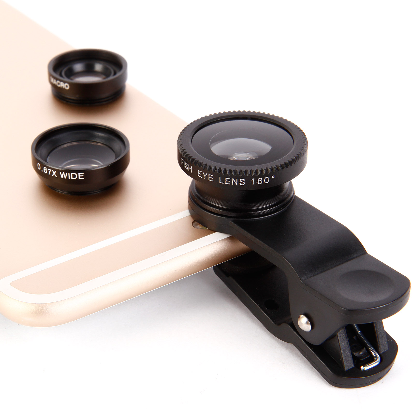 3in1 objectif appareil photo clip macro ange large fisheye. Black Bedroom Furniture Sets. Home Design Ideas