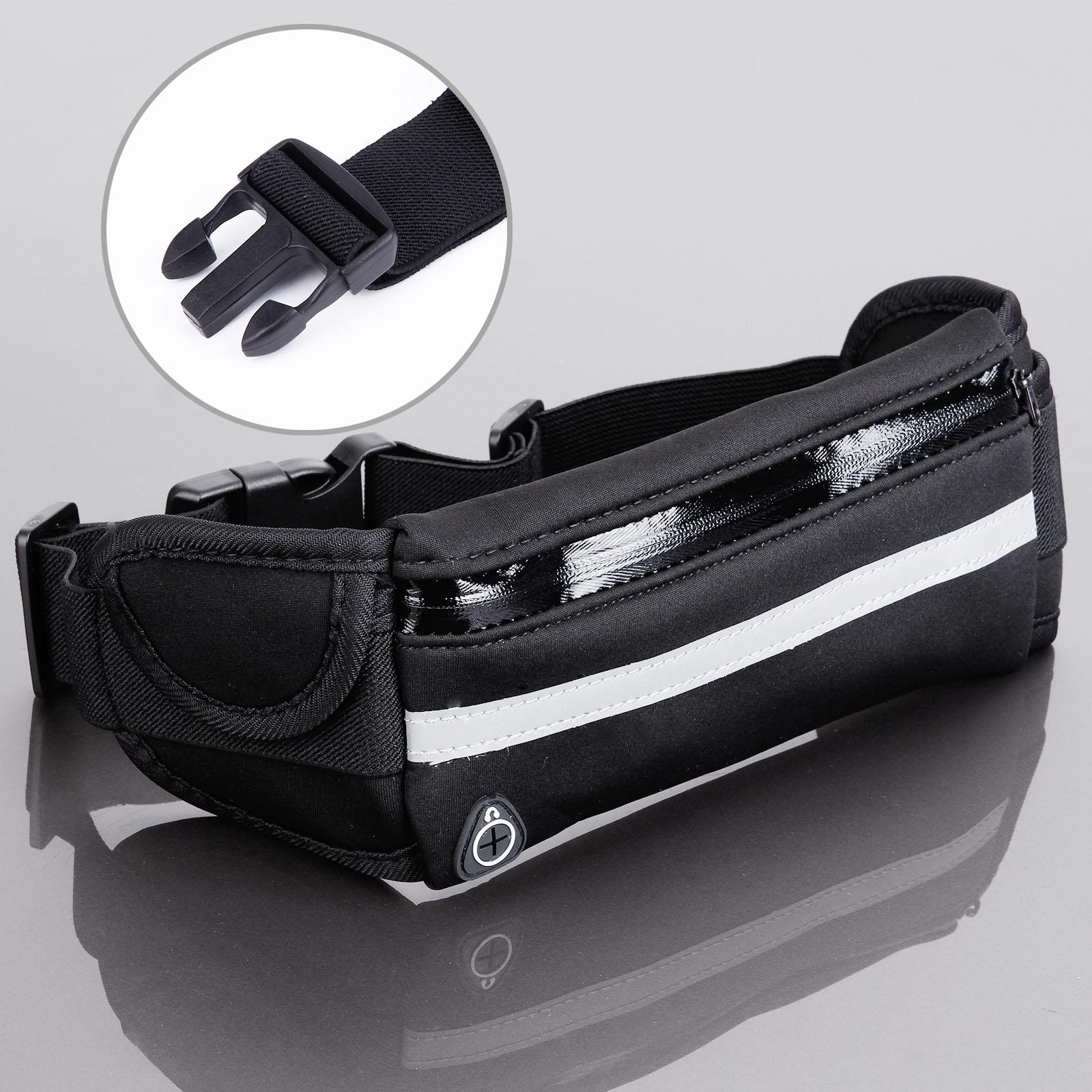 noir sac banane ceinture de voyage portefeuille jogging course sport ebay. Black Bedroom Furniture Sets. Home Design Ideas