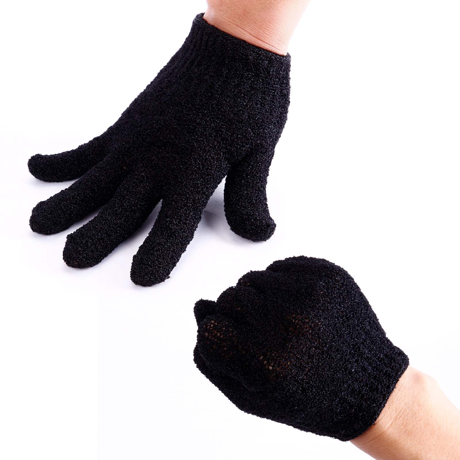 Nero guanti protettivi isolante termico per parrucchiere - Materiale isolante termico ...