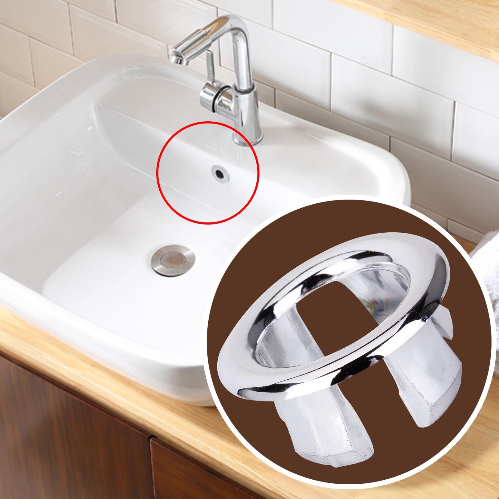 Bathroom sink overflow