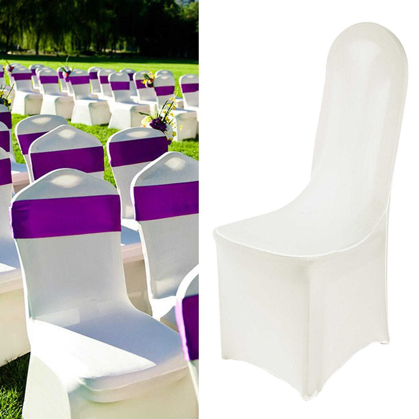 stuhlhussen stretch universell hussen stuhl berzug stuhlbezug hochzeit 1 100st ebay. Black Bedroom Furniture Sets. Home Design Ideas