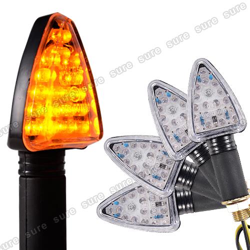 4x 18 led mini blinker motorrad lichter quad roller lampe. Black Bedroom Furniture Sets. Home Design Ideas