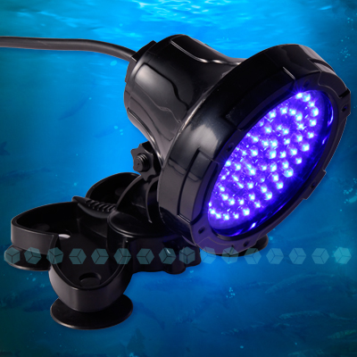 blau 68 led unterwasser aquarium licht mondlicht spot ebay. Black Bedroom Furniture Sets. Home Design Ideas