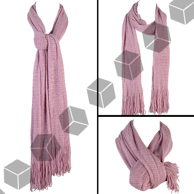 Long Scarf with Loopy Fringe - Free Crochet Pattern: