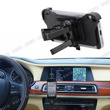 car holder air vent phone holder vent for apple iphone 5. Black Bedroom Furniture Sets. Home Design Ideas