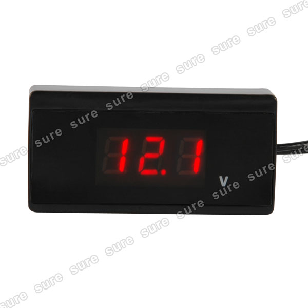 Car Battery Monitor : Car battery voltage monitor charge meter ebay
