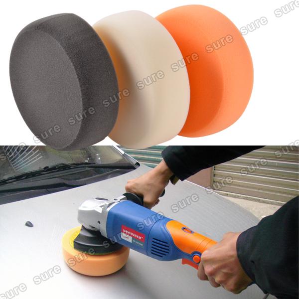 6x eponges pour machine polissage polisseuse polish. Black Bedroom Furniture Sets. Home Design Ideas