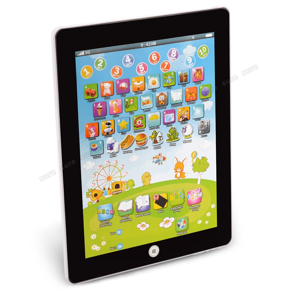 Kinder tablet spielzeug lerncomputer learning pad english