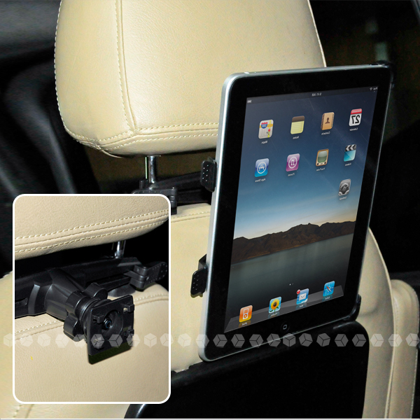 support holder voiture appui tete pour apple ipad solde ebay. Black Bedroom Furniture Sets. Home Design Ideas