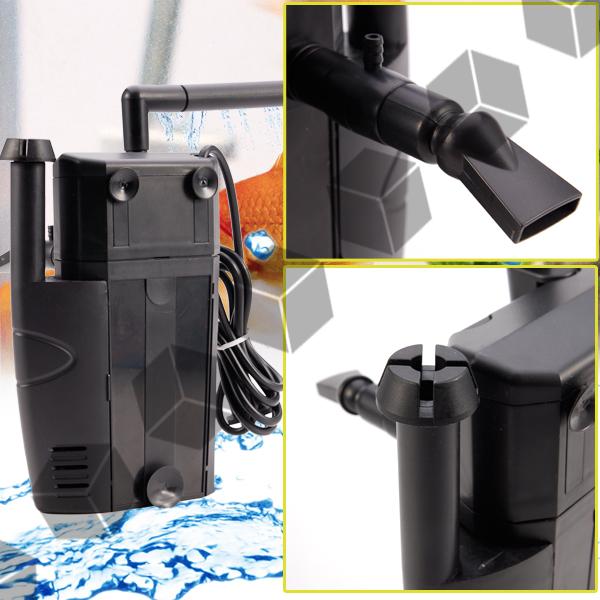 400 X 2l H Single Motor Dual Impeller Internal Filter For