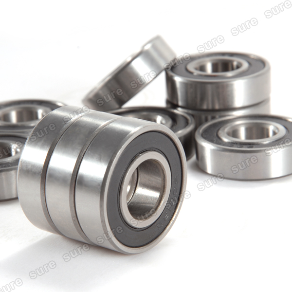 10 Kugellager 628 2RS 8 x 24 x 8 mm
