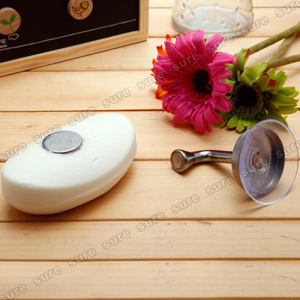 f r badezimmer magnet seifenhalter seifenablage ablage seife spender ebay. Black Bedroom Furniture Sets. Home Design Ideas