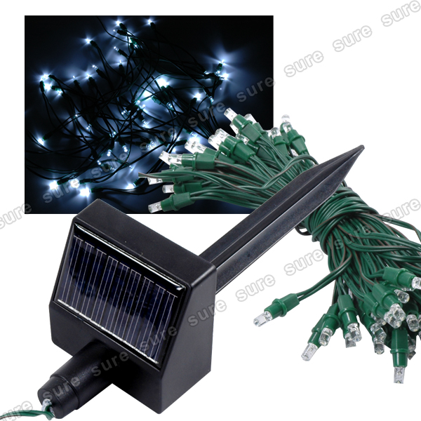 60er led lichterkette solar warmwei au en lichterkette garten solarleuchte ebay. Black Bedroom Furniture Sets. Home Design Ideas