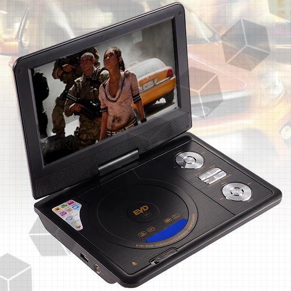 tragbar dvd cd player tft lcd divx svcd mp3 9 5 zoll ebay. Black Bedroom Furniture Sets. Home Design Ideas