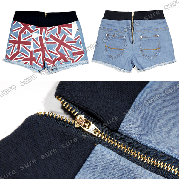 ladies hot pants panty short trousers shorts bermuda jeans. Black Bedroom Furniture Sets. Home Design Ideas