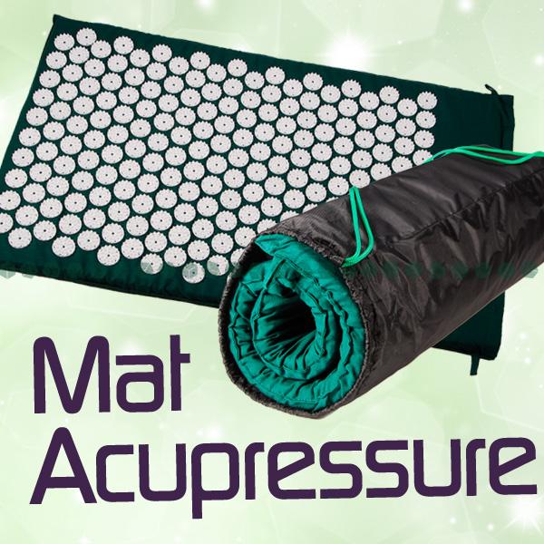 New Green Acupressure Mat Kung Fu Mat Health Mat Shakti Yoga
