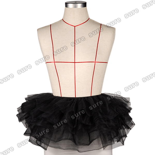 Rainbow Neon RaRa Rave Clubbing Ballet Dance Ruffle Tiered Tutu Skirt Clubwear