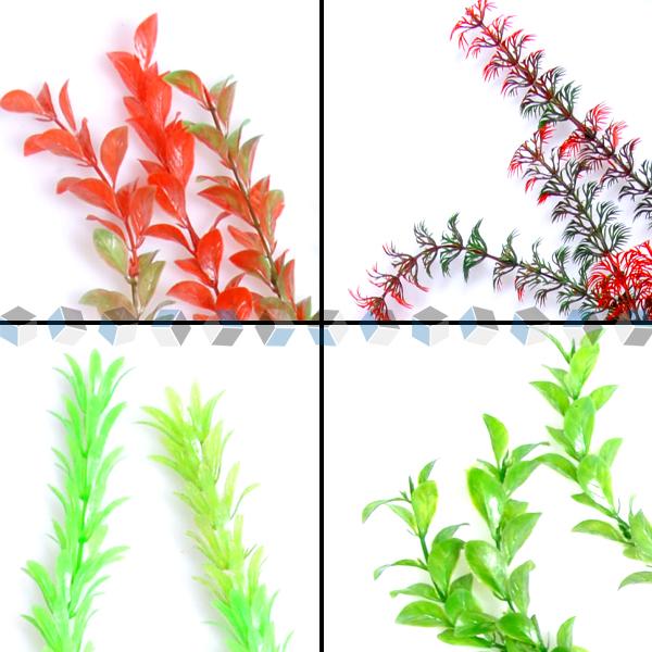 7 tlg k nstliche wasserpflanzen aquariumpflanzen aquarium. Black Bedroom Furniture Sets. Home Design Ideas