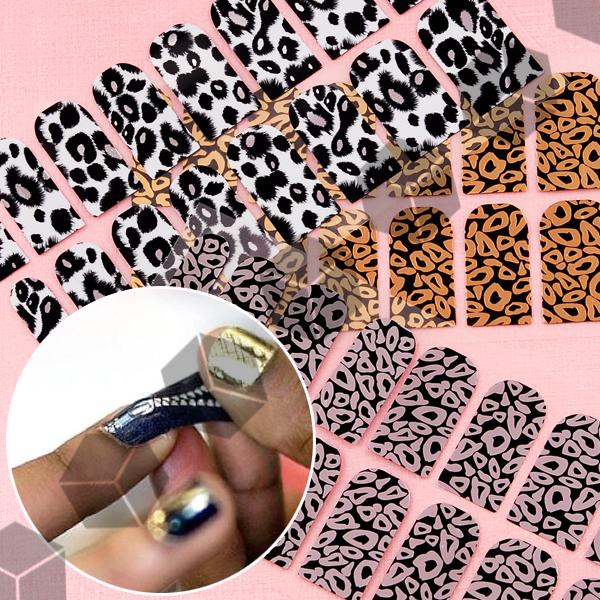 16x3 pegatinas protector etiquetas para decorar u as for Decoracion hogar leopardo