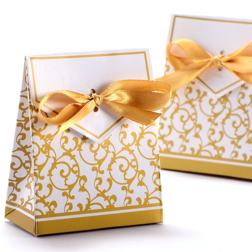 ... about 50 Boxes Wedding Favour Candy Boxes Gift Boxes With Ribbons