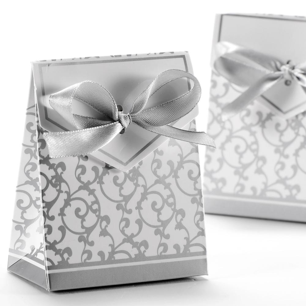 50 x gastgeschenk schachtel geschenkbox hochzeit fest gold silber ebay. Black Bedroom Furniture Sets. Home Design Ideas