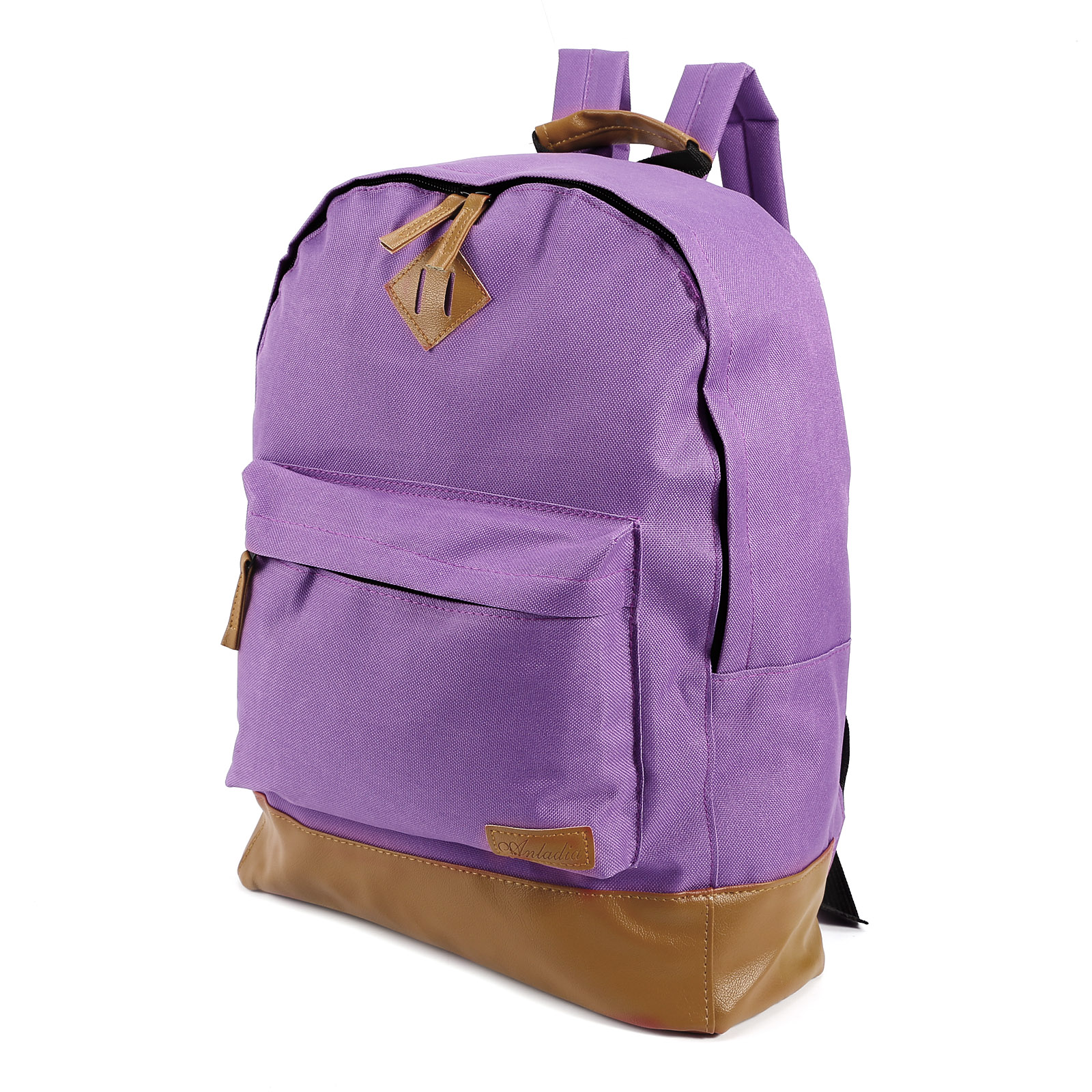canvas rucksack backpack schultertasche umh ngetasche. Black Bedroom Furniture Sets. Home Design Ideas