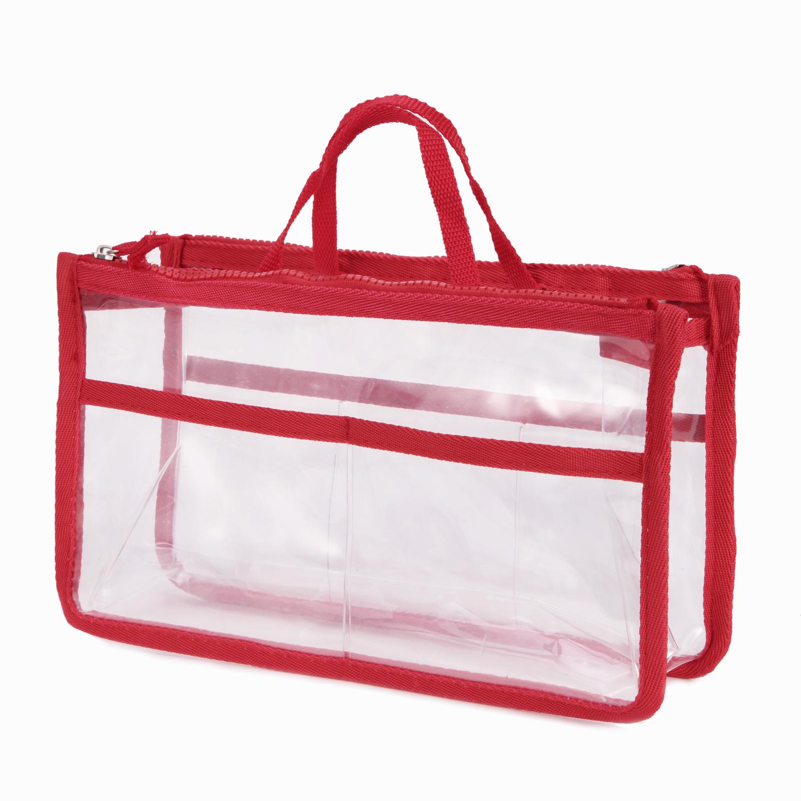 Organizador de bolsos talla grande de transparente neceser - Organizador de carteras ...