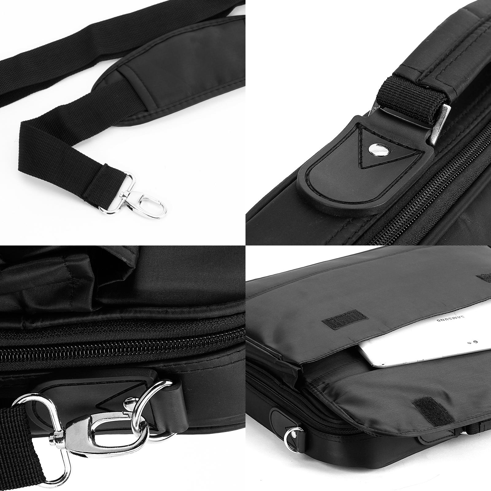17 zoll notebooktasche laptoptasche tasche wasserdicht f. Black Bedroom Furniture Sets. Home Design Ideas