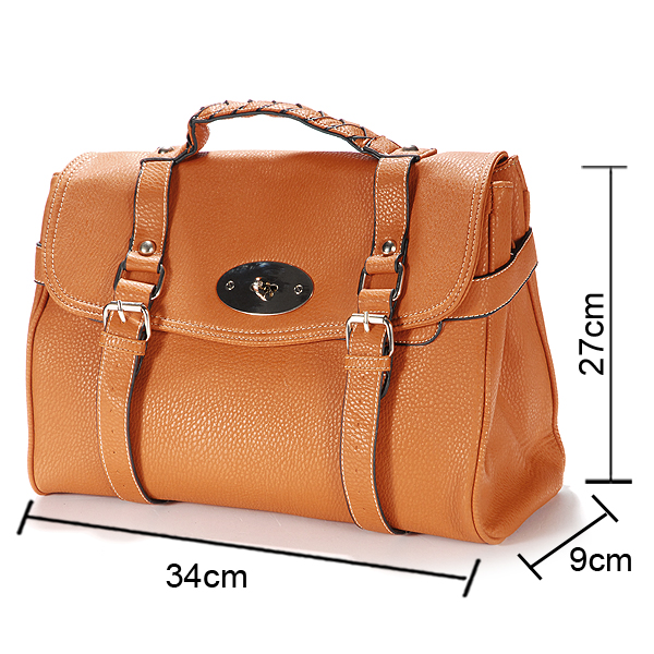Designer Leather Style Satchel Bags Shoulder Office Laptop Handbags