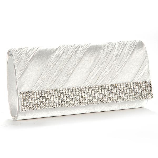 Luxus-Damentasche-Abendtasche-Hochzeit-Clutch-Beutel-Brauttasche-Schultertasche
