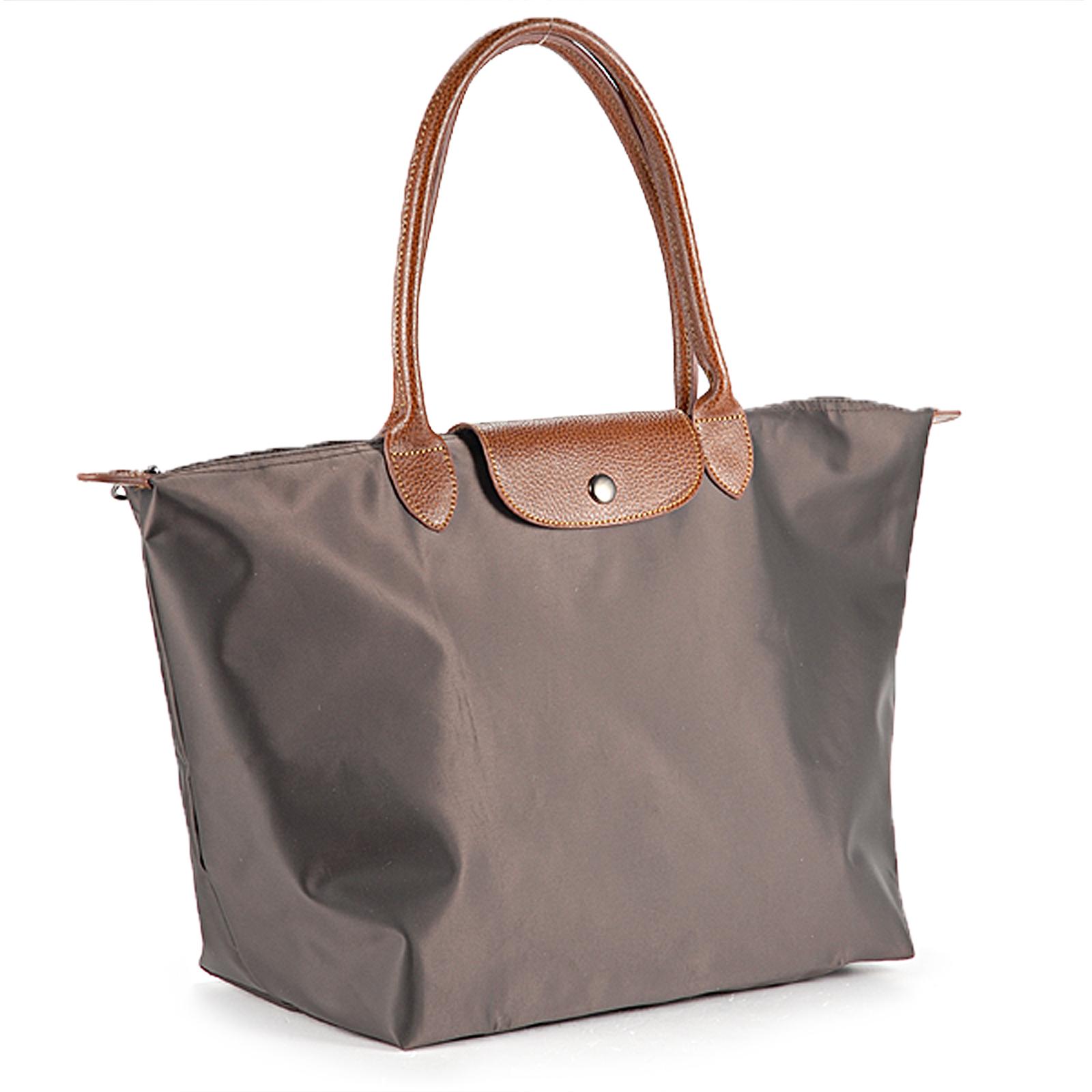 faltbare damen nylon shopping shopper tasche handtasche. Black Bedroom Furniture Sets. Home Design Ideas