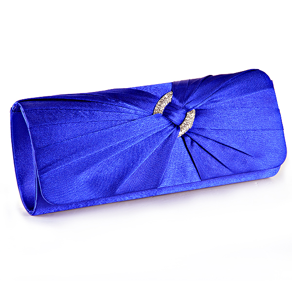 Satin-Damen-Abendtasche-Clutch-Bag-Tasche-Handtasche-Brauttasche-mit-Strass-Mode