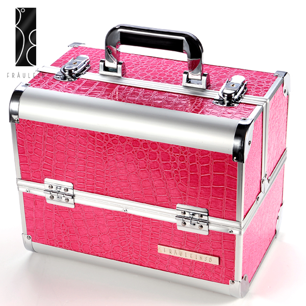 Pink Beauty Makeup Therapist Artist Cosmetics Case Tool Box | EBay