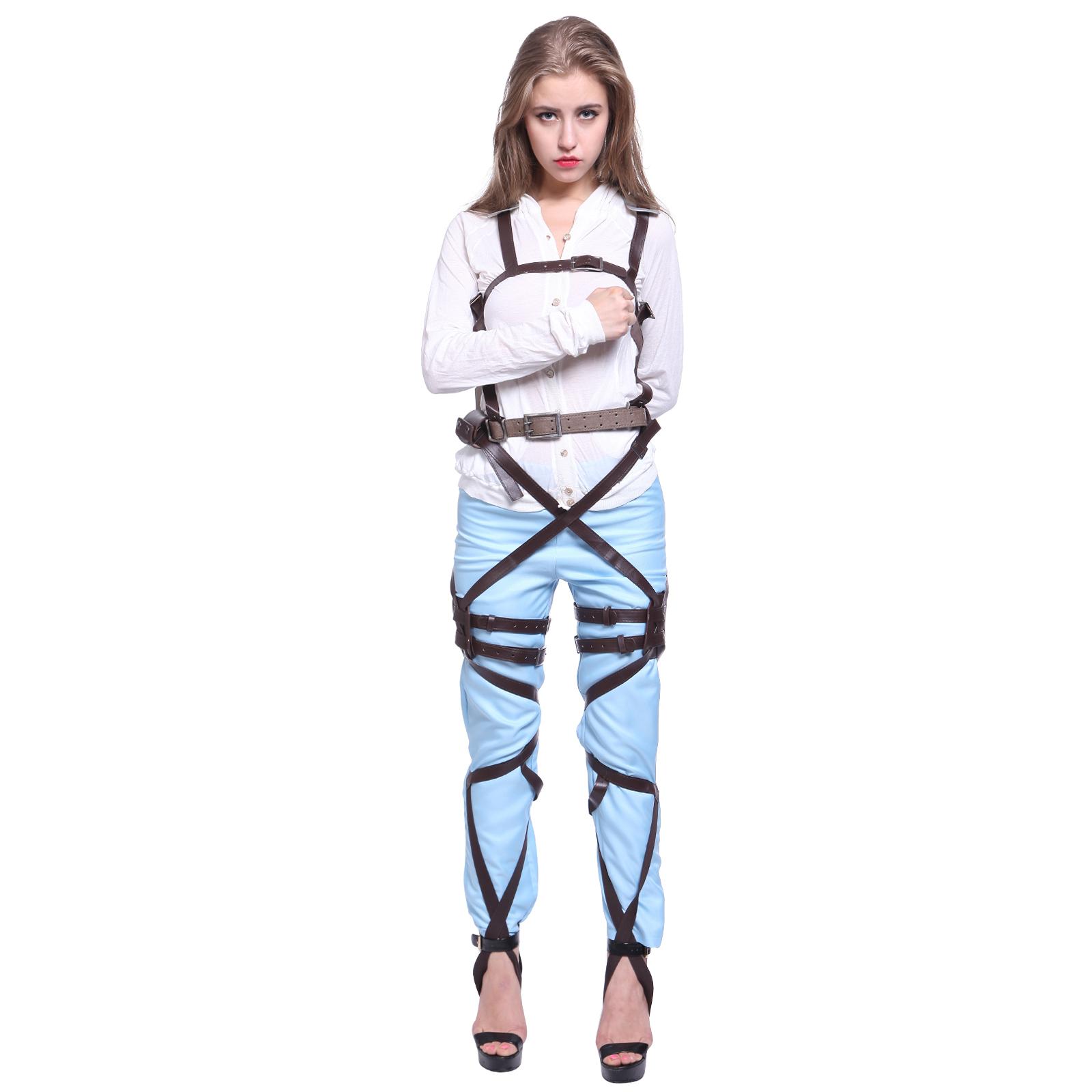 Cos Cosplay Shingeki no Kyojin Attack On Titan Adjustable Harness Straps Belts   eBay