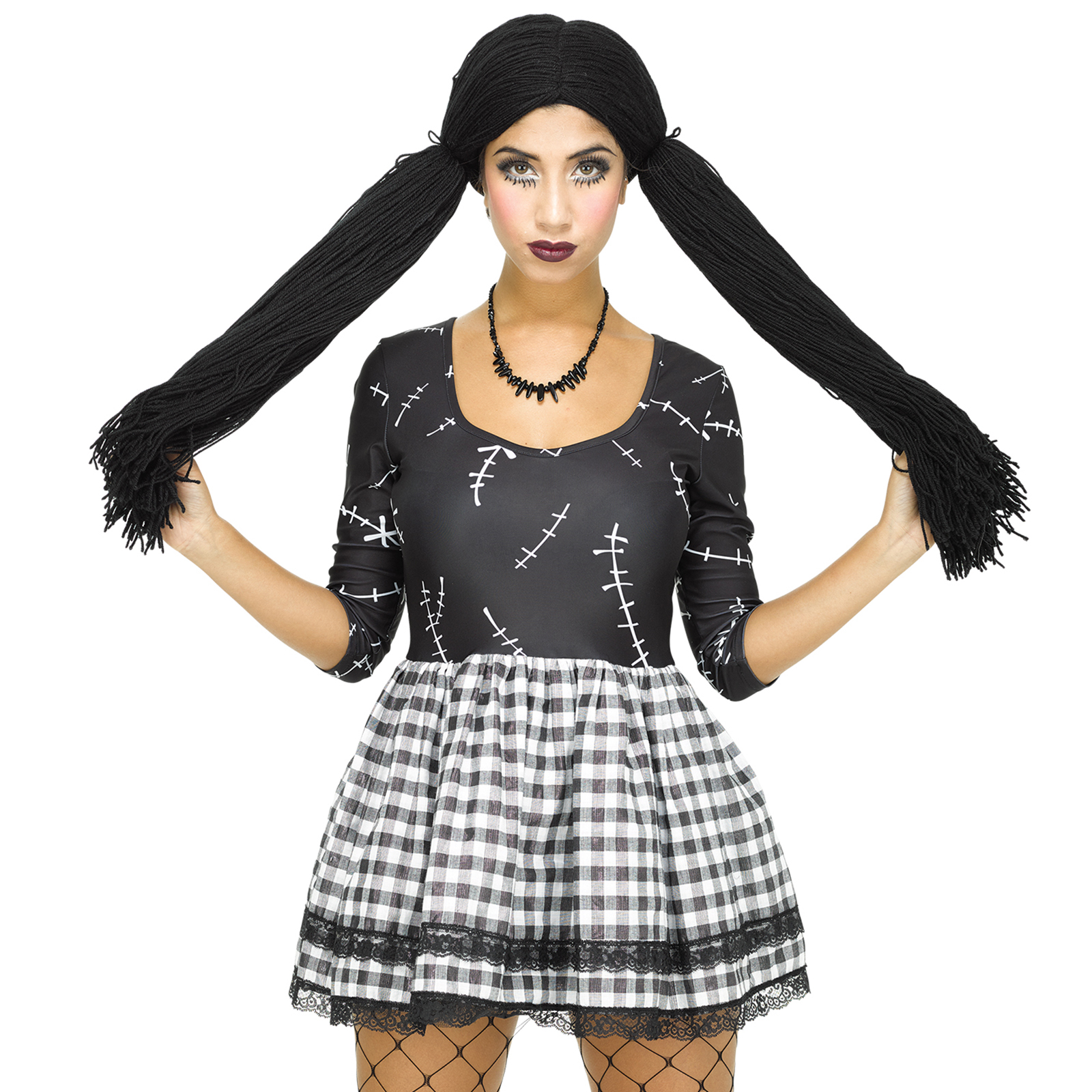 fasching horror zombie kost m damen halloween kleid karneval mottoparty ebay. Black Bedroom Furniture Sets. Home Design Ideas